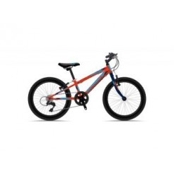 Sprint Casper 20 inch mountainbike Red/Blue 6 Speed + 2 handremmen